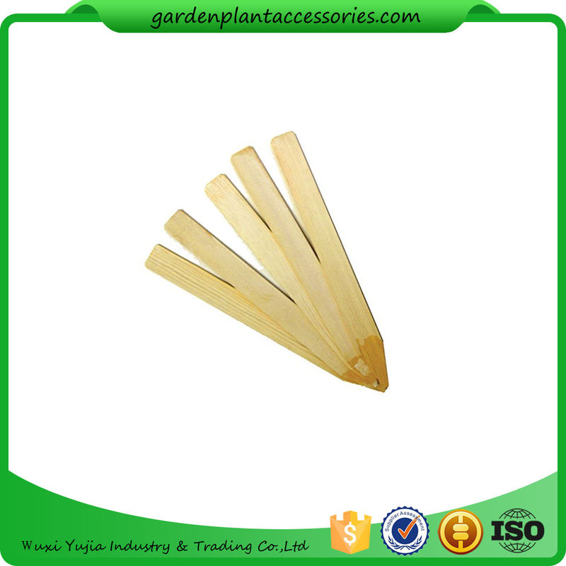 China Vegetable Bamboo Garden Plant Markers , Natural Wood Garden Stakes  Supplier
