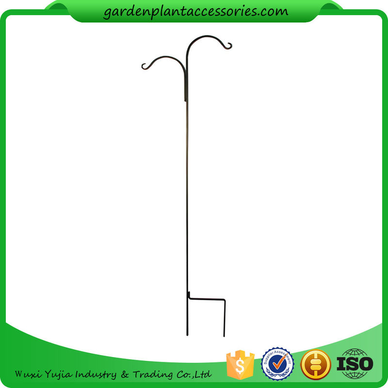 China Tall Garden Plant Accessories 48 Inch Double Shepherdu0027S Hook Plant  Hanger Supplier