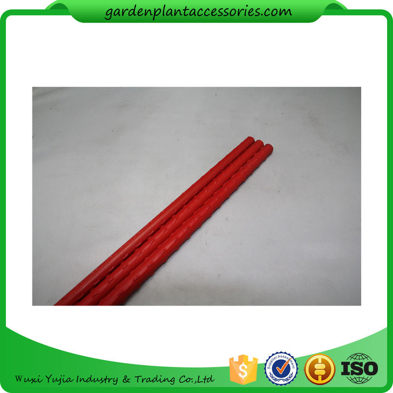 china pe coated metal garden plant stakes 8mm diameter 75cm length metal garden stakes lengt - Metal Garden Stakes