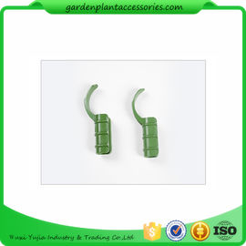 Flexible Plastic Green Garden Cane Connectors For Fasten Films