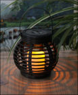 Black Color Outdoor Solar Lights Energy Saving LED Products Novel Design