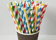 Creative Color Candy Stripe Straws Paper Suction Tubes For Wedding Using