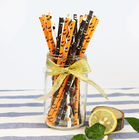 Full Color Party City Paper Straws Biodegradable Material For Craft Exhibitions